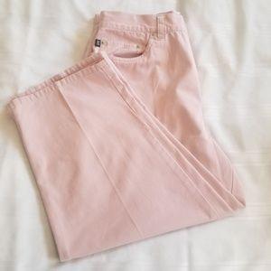 Ralph Lauren Pink Capris Cropped Pants